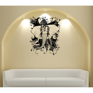 Abstract Elephant Vinyl Wall Decal