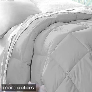 all season microfiber down blend color comforter