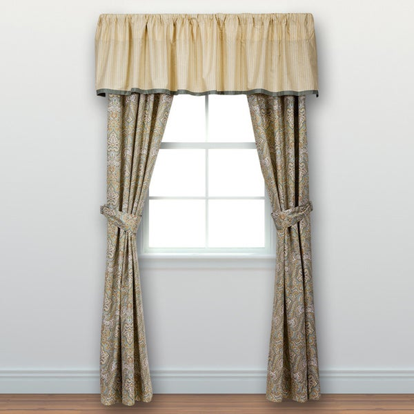 Curtains Ideas curtain poles laura ashley : Laura Ashley Berkley 84 inch Curtain Panel Pair - Free Shipping On ...