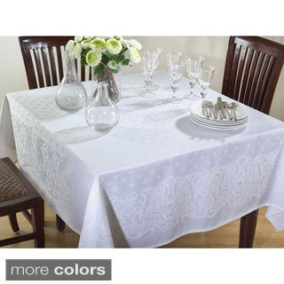 Polyester 72-inch Jacquard Design Tablecloth (3 options available)