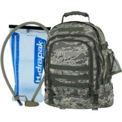 Mercury Luggage Digital Camo Tac Backpack With Hydrapak Digital Camo
