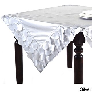 Circle Design Table Linens