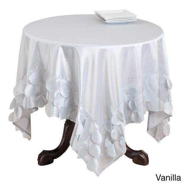 Circle Design Table Linens