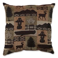 Evergreen Lodge 18-inch Throw Pillow