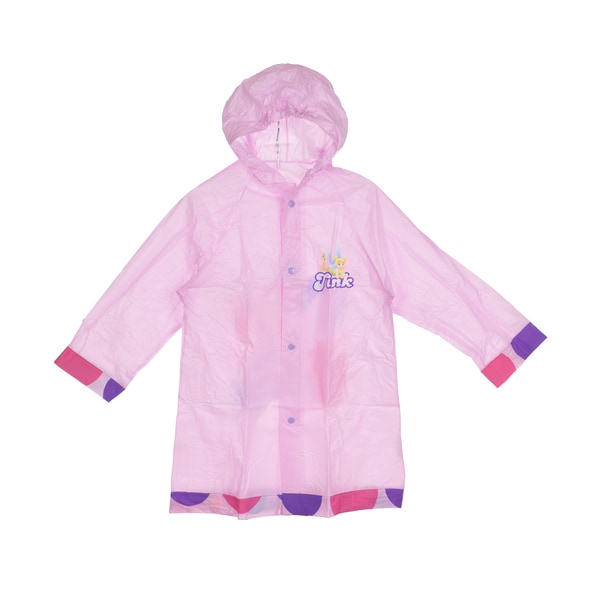 Disney Fairies Girl's Tink Spots Raincoat