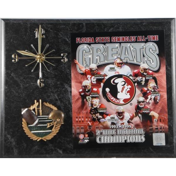Florida State Seminoles All Time Greats Clock