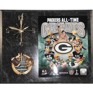 Green Bay Packers All Time Greats Clock