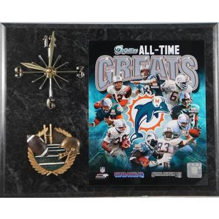 Miami Dolphins All Time Greats Clock
