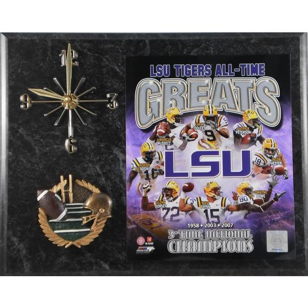 LSU Tigers All Time Greats Clock