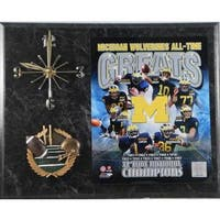 Michigan Wolverines All Time Greats Clock