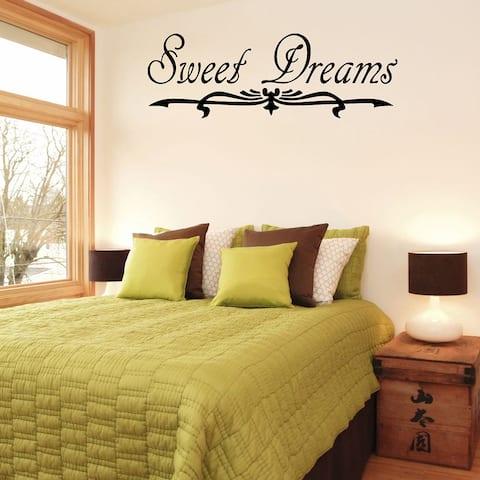 'Sweet Dreams' Vinyl Wall Decal
