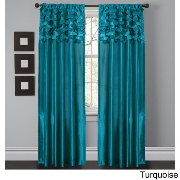"Lush Decor Circle Dream 84 inch Curtain Panels (Set of 2) - 54""w x 84""l"
