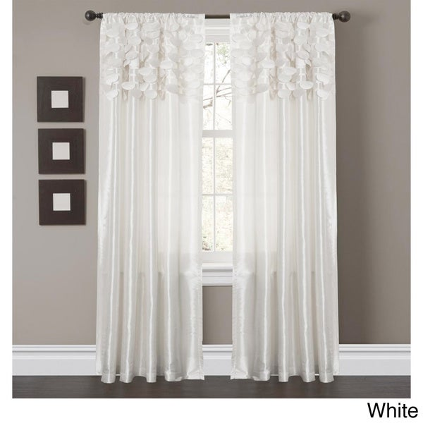 Lush Decor Circle Dream 84 inch Curtain Panels (Set of 2) - 54 x 84