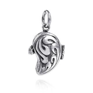 Angel's Secret Swirl Enamored Wing .925 Silver Pendant (Thailand)