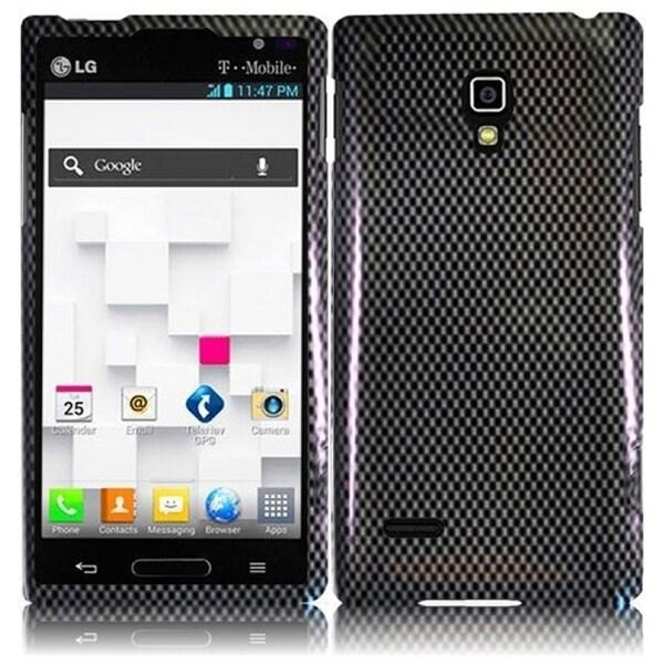 INSTEN Carbon Fiber Phone Case Cover for LG Optimus L9/ P769/ MS769