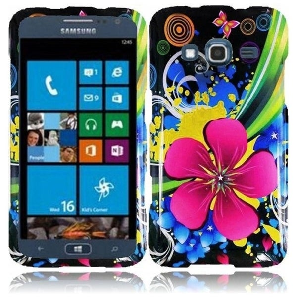 INSTEN Eternal Flower Phone Case Cover for Samsung ATIV S Neo i800