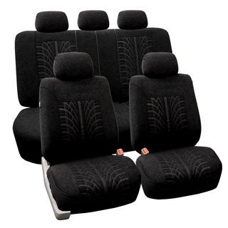 FH Group Black 'Travel Master' Car Seat Covers (Full Set)