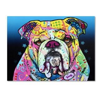Shop Dean Russo The Bulldog Canvas Art Free Shipping