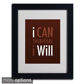 Megan Romo 'I Will II' Framed Matted Art
