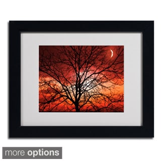 Philippe Sainte-Laudy 'Big Bad Moon' Framed Matted Art