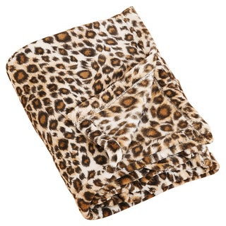 Cheetah Print Throw