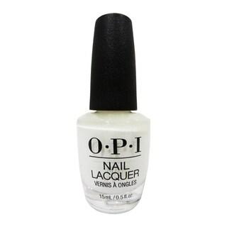 OPI Alpine Snow White Nail Lacquer