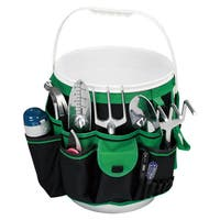 Green Hanging Pocket Organizer for Buckets