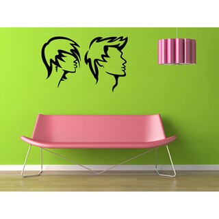 Modern Hair Vinyl Wall Decal