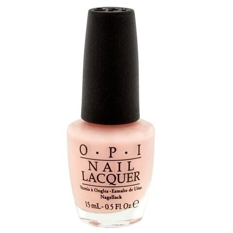 OPI Bubble Bath Pink Nail Lacquer