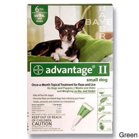 Advantage II for Dogs (6-pack)