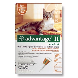 Bayer Advantage II for Cats (6 Pack)