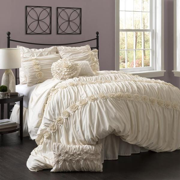 Lush Decor Darla 4 Piece Comforter Set Free Shipping