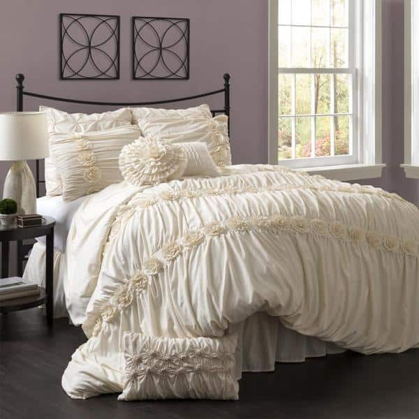 Lush Decor Darla 4 Piece Comforter Set