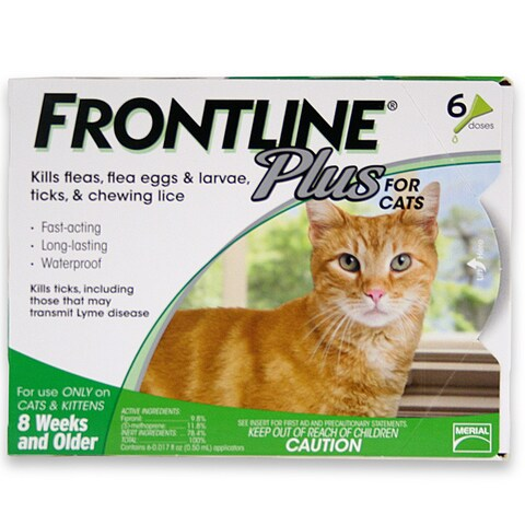Merial Inc. Limited Frontline Plus for Cats (Pack of 6)