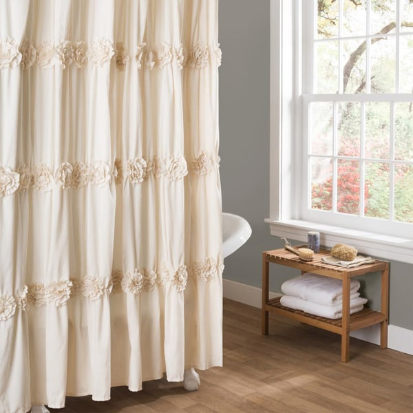 Lush Decor Darla Shower Curtain Free Shipping Today