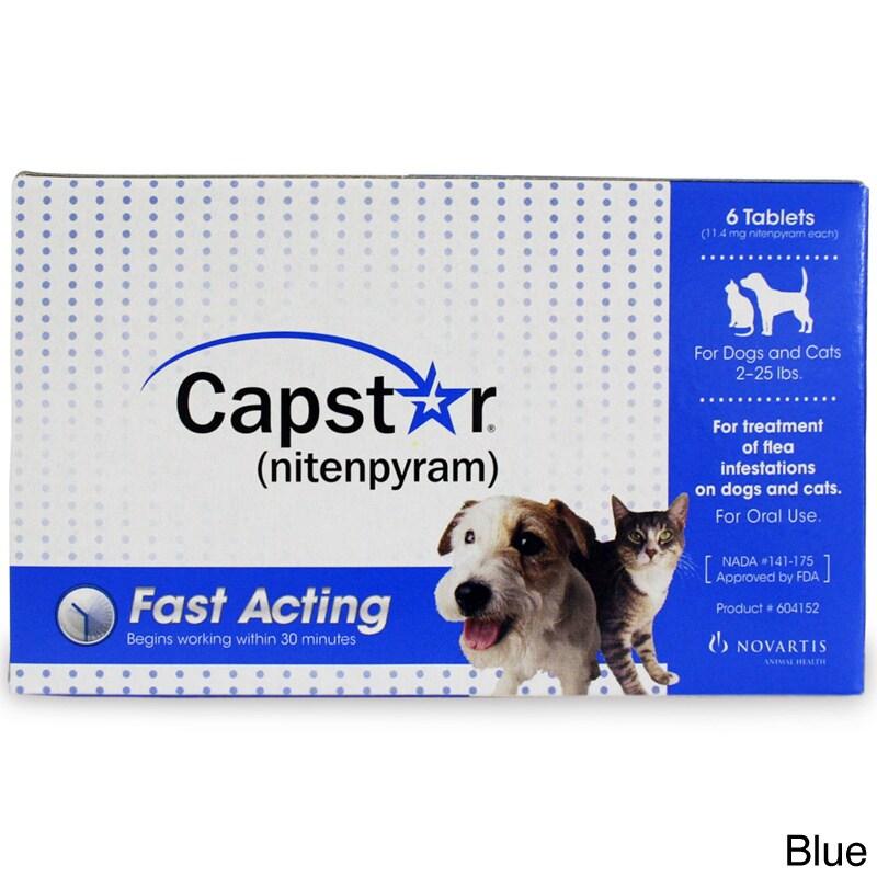 Novartis NUTRITION CORPORATION Capstar Flea Treatment (6-...