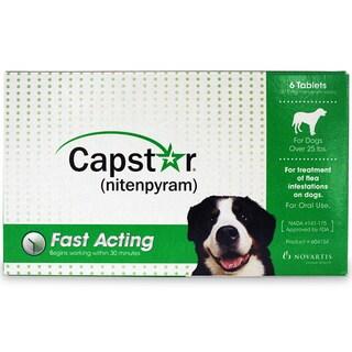 Capstar Flea Treatment (6-pack)