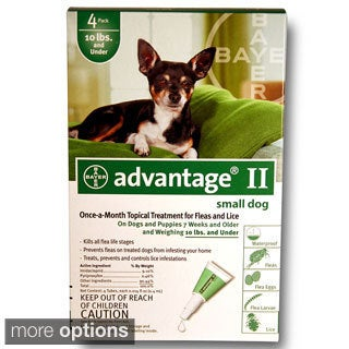 Advantage II for Dogs (4-pack)