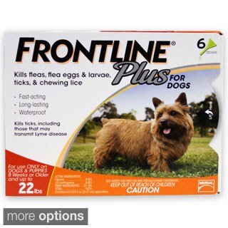 Frontline Plus for Dogs (6-pack)