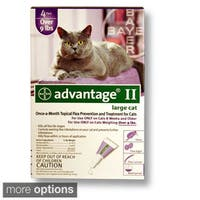 Advantage II for Cats (4-pack)