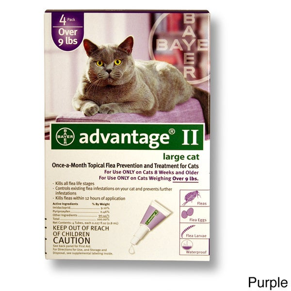 Advantage Ii Dog For Cats