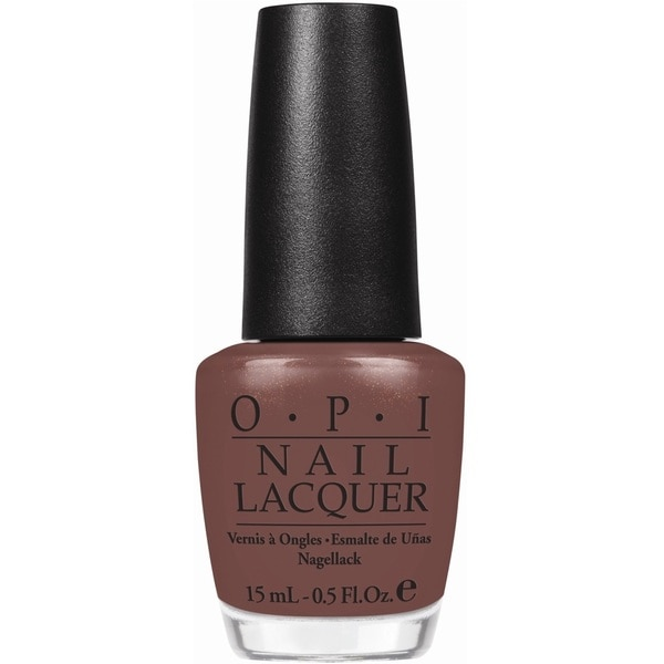 OPI 'Wooden Shoe Like To Know' Brown Nail Lacquer