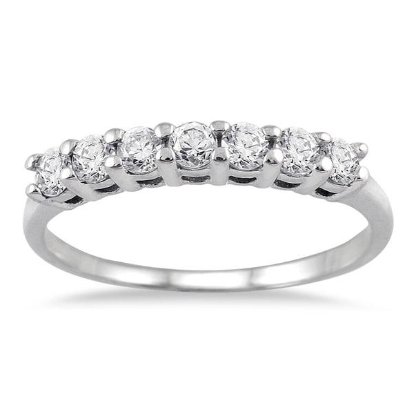 Marquee Jewels 14k White Gold 1/2ct TDW Diamond Ring (I-J, I2-I3)