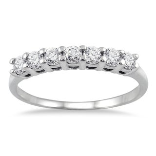 Marquee Jewels 14k White Gold 1/2ct TDW Diamond Ring