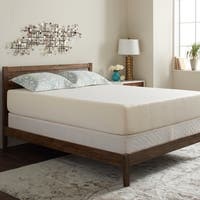 Select Luxury Gel Memory Foam 12-inch King Size Medium Firm Mattress and Foundation Set