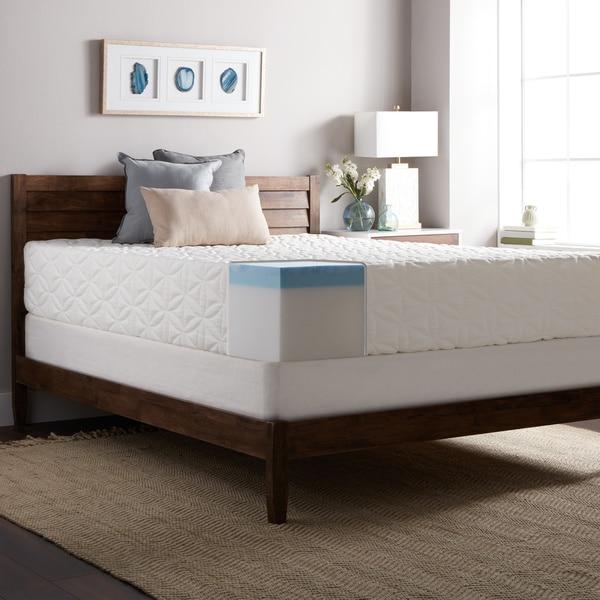 Select Luxury Gel Memory Foam 12 Inch King Size Medium