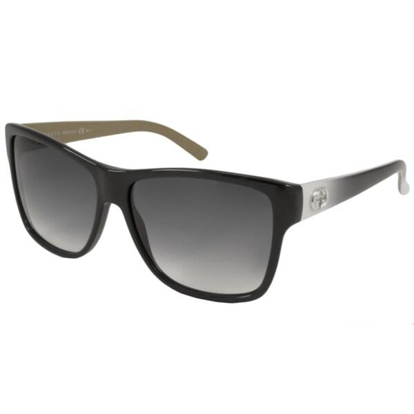 Grey Glasses Frames Ladies : Gucci Womens GG 3579/S 0L4E Black/Grey Sunglasses ...