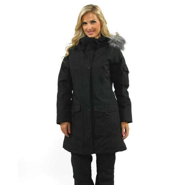 2b31d585ace Shop The North Face Women s Insulated Juneau TNF Black Jacket - Free ...