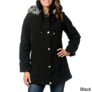 Fleet Street Women's Puckered Coat