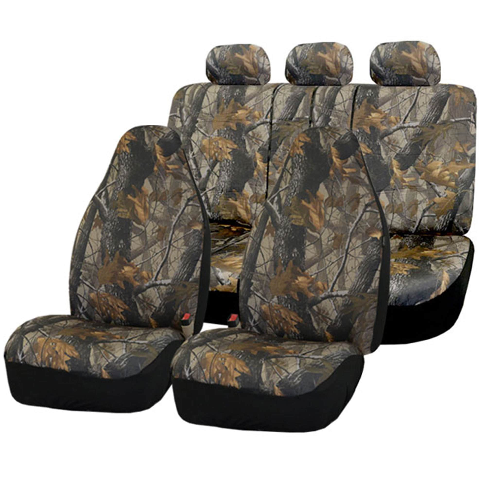 FH Group Hunting Camouflage Airbag-safe Car Seat Covers (...